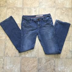 DKNY bootcut jeans Jeans in very good condition! Bootcut with pocket flaps on back. DKNY Jeans Boot Cut