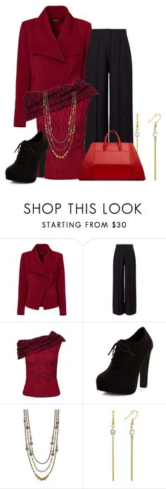 """""""fall"""" by kim-coffey-harlow ❤ liked on Polyvore featuring Greylin, Miss Selfridge, Roland Mouret, New Look and Simply Vera"""