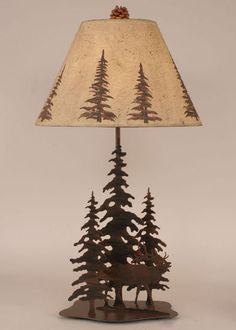 Cabin Decor Table Lamps - Western Decor - Cabin Decor