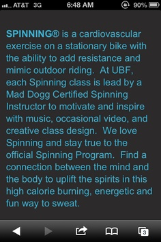Urban Body Fusion. Spinning and Kranking Studio in Tampa
