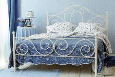 Romantyczne łóżko kute AGNES Dostępne na www.artbed.pl