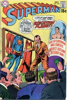 Cover by Curt Swan and Murphy Anderson