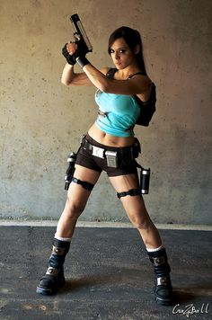 Tomb Raider Lara Croft Costume. doing this for Halloween when I get fit enough lol