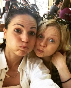 Awesome Lana and Emilie being funny #VancouverBC #Canada Spring 2016