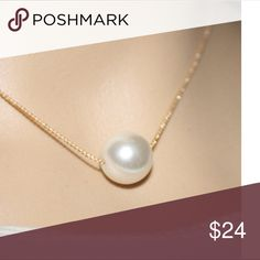 """Fashion gold pearl necklace Hello dear!  Thank you for the like💗!  Just wanted to let you know i am taking 10% off bundles & giving you a FREE gift up to $10 value.    If you are just wanting one item, I do accept reasonable offers on most items.  Please use the OFFER"""" button.  NO TRADE !!!  Thanks for visiting!😊. I also have a buy 2 get 1 FREE Jewelry promotion going on.  Lmk which item you want free. Jewelry Necklaces"""