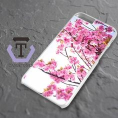 Pink Cherry Blossoms Photograph iPhone 6 Plus|iPhone 6S Plus Black Case