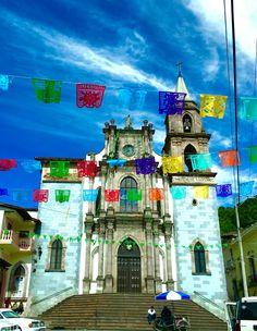 Iglesia de la Immaculada Concepción; Angangueo, Michoacán
