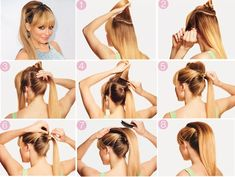 Top 5 Fashionable Ponytail Tutorials | Hairstyles Trending
