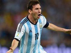 Messi autor del gol Brasil 2014