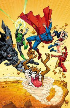A DC Comics acaba de lançar as suas capas variantes de novembro que trazem os Looney Tunes junto aos personagens da editora, ilustrados por artistas da DC Entertainment e da Warner Bros. Animation. As capas variantes das edições de novembro são em grande parte satíricas e mostram os grandes heróis e vilões da DC em …