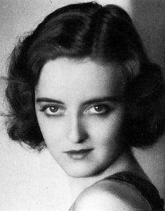 Early Bette Davis  https://sphotos-b.xx.fbcdn.net/hphotos-prn1/48144_530745930310678_1424086305_n.jpg