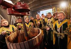 2017 - Prima del Torcolato   Torcolato new wine festival  Jan. 15, in Breganze, Piazza Mazzini, about 15 miles north of Vicenza. The Torcolato is the gem of Breganze's winemaking tradition. It is produced from pressing dried Vespaiola grapes which are hung (torcolate, in the local dialect) on strings from the wooden beams of the attics of farmhouses; 2:30 p.m. Public pressing of the 2013 grape harvest; Torcolato wine tasting; local products exhibit and sale; folk music and dancing.