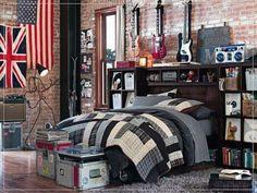 Great Rock N Roll Bedroom Decor
