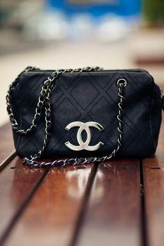Chanel ~ Black Purse