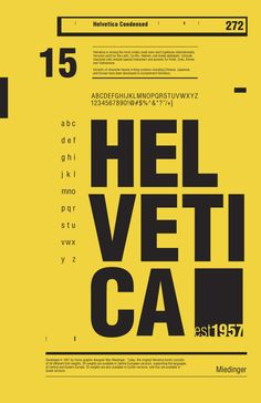 Poster / 50 Years of Helvetica by R2works