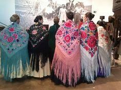Gypsy piano shawls