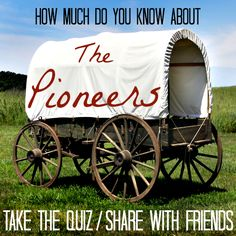 How much do you know about the Mormon pioneers and early Utah history? Test your knowledge of the people, places and events surrounding July Pioneer Trek, Pioneer Life, Pioneer Day Utah, Activity Day Girls, Activity Days, Pioneer Day Activities, Trek Ideas, Mormon Pioneers, Lds Seminary