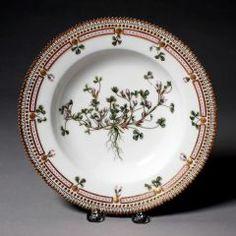 Soup Bowl ROYAL DANISH PORCELAIN FACTORY (DANISH, COPENHAGEN, b. 1774–PRESENT) C. 1861-1863