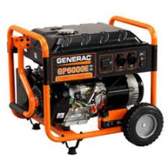 Generac GP 8000E Portable Generator features Generac's OHV Portable Generator, Lawn Mower, Outdoor Power Equipment, Shop, Engine, Lawn Edger, Grass Cutter, Garden Tools, Store
