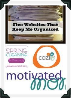 Five Websites That Keep Me Organized