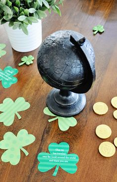 St. Patricks Day shamrock printables