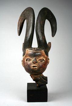 Horned Headdress | Ibibio peoples | The Met