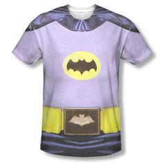 New Batman Classic TV Series Show Adam West Bat Costume Sublimation T-shirt Top #Trevco #GraphicTee