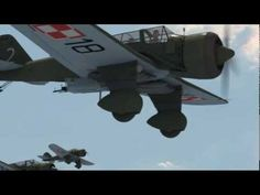 BDF - PZL-23B Karaś Polish Light Bomber - September 1939 Invasion Of Poland, Air Machine, Ww2 Aircraft, Aircraft Design, Films, Movies, Armed Forces, Warfare, Wwii