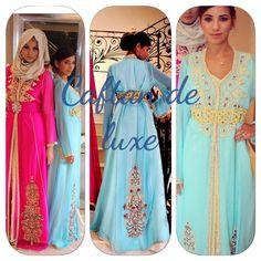 Deux splendides nouveaux modèles du caftan marocain moderne et traditionnel à la foie , très chic et tellement raffiné pour toutes les jeunes filles et femmes à la recherche de nouvelles créations en vente au meilleur prix