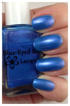 Blue-Eyed Girl Lacquer Birthday Wishes