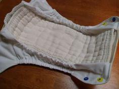 diy double gusset diaper