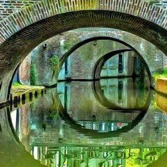 Photo utrecht bridges monochrome by Sylvain Lemarechal on Utrecht, Rotterdam, Holland, Monochrome, Photos Voyages, Secret Life, Belle Photo, Mona Lisa, Scenery