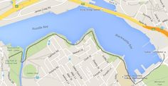 Glebe Foreshore walk map