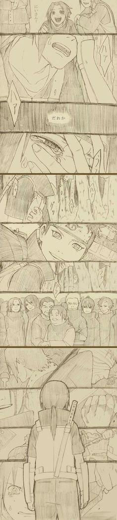 Itachi, Sasuke, Mikoto, Fugaku, Shisui, Uchiha clan, Uchiha family, sad, crying, text, young, childhood, comic; Naruto