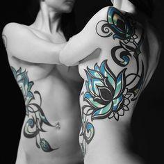 #13tattoo #tattoo #tattoomarket #bishoprotary #nocturnalink #ornamental #flower #lotus #blacktattooart #blackworkers_tattoo #blackworkerssubmission #blxckink #darkartists #tattoinrussia #tattooistartmag