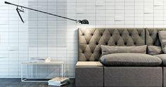 idée de carrelage et salon design par Kaza