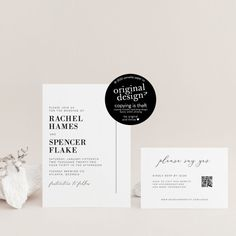 QR code wedding invitations are here! Create your own custom QR code and add to your invitation, RSVP, or insert card. Perfect for easily directing your guests to your wedding website!