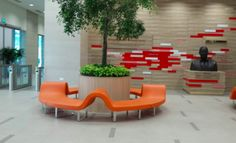 Segis Highway wrapping planter