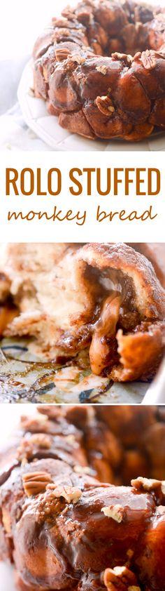 Rolo Stuffed Monkey Bread - Recipe Diaries