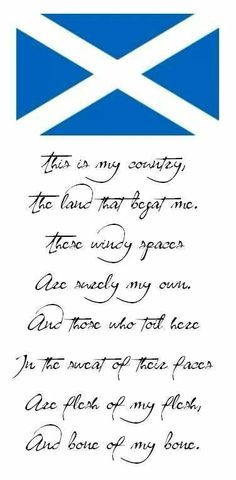 Scotland. I wish.