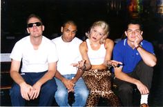 Gwen Stefani w/ No Doubt at the 1996 MTV Video Music Awards