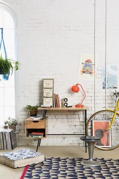 4040 Locust Paperclip Desk #urbanoutfitters