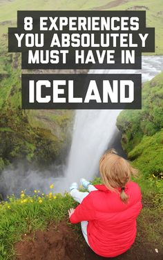 experiences you absolutely must have in Iceland 8 experiences you absolutely must have in Iceland! / A Globe Well experiences you absolutely must have in Iceland! / A Globe Well Travelled Oh The Places You'll Go, Places To Travel, Travel Destinations, Travel Goals, Travel Advice, Travel Plan, Travel Articles, Budget Travel, Travel Ideas