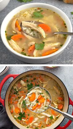 Healthy Protein Snacks, Easy Healthy Recipes, Lunch Recipes, Soup Recipes, Easy Meals, Avgolemono Soup, Chicken Rice Soup, Healthy Family Meals, Comfort Food