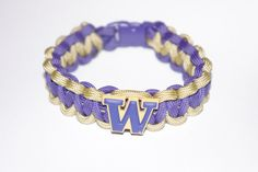 University of Washington Huskies Paracord Bracelet.