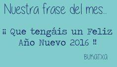 #frasedelmes #bukatxa #2016