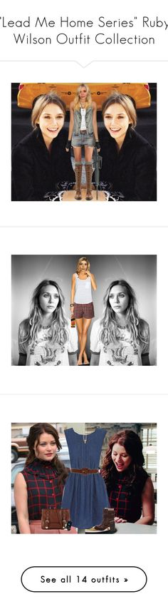 """""""""""Lead Me Home Series"""" Ruby Wilson Outfit Collection"""" by younglovesnightmare ❤ liked on Polyvore featuring Olsen, RIFLE, Free People, James Perse, Denim & Supply by Ralph Lauren, La Mer, A Wear, AllSaints, Johnnie Walker and Polo Ralph Lauren"""