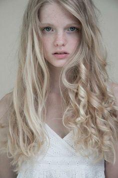 If I wasn't afraid it would ruin my coarse, wavy hair, I'd totally go light blonde. I envy @Abby Mattson 's light blonde hair!
