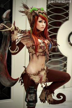 Cosplay Fiddlesticks League Of Legends sexy