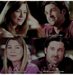 Greys Anatomy Memes, Grey Anatomy Quotes, Grays Anatomy, Meredith And Derek, Laura Ingalls Wilder, Patrick Dempsey, Warrior Queen, Youre My Person, Movie Tv